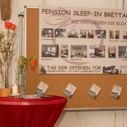 Ausstellung von Fa. Discher, Häußermann, Kronmüller, Kuttruf, Wörbach in der Mühle.Motto: 'Feste feiern und organisieren'